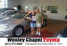 https://flic.kr/p/R4UDjL | #HappyBirthday to Edward & Diane from Eric Riley at Wesley Chapel Toyota! | deliverymaxx.com/DealerReviews.aspx?DealerCode=NHPF