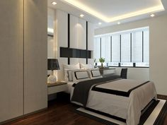 Master Bedroom Hdb dc vision contemporary all white master bedroom | ideas