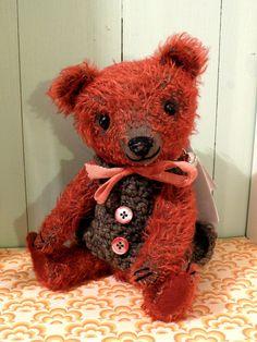 Fynn. $165.00, via Etsy. #handmade teddy bear