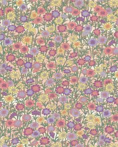 Chiyogami 799--another vintage wallpaper look.  To decorate magazine holders?