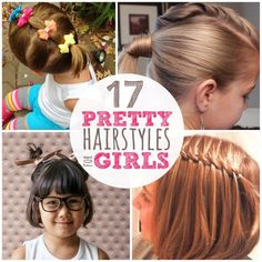 For those days when you either need a quick style for your kids or one that is nearly indestructible, we have found 17 Lazy Hairstyles for Girls.
