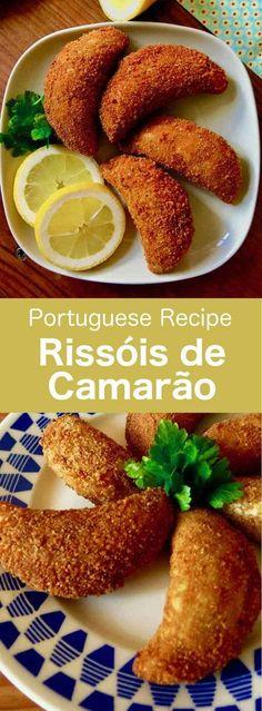 37fd291fb3 Les rissóis de camarão sont de délicieux petits beignets salés en forme de  demi-lune