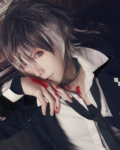Character: Ruki Mukami {Diabolik Lovers More Blood} Cosplayer: ginsum {Hong…