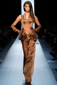 See all the Collection photos from Jean Paul Gaultier Spring/Summer 2015 Couture now on British Vogue Jean Paul Gaultier, Paul Gaultier Spring, Couture 2015, Spring Couture, Couture Fashion, Fashion Week, Fashion Show, Fashion Design, Fashion 2015
