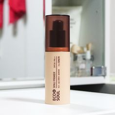 the SAEM Eco Soul Spau Primer SPF30 PA++ REVIEW