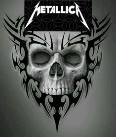 Diy Tutorial and Ideas Music Tattoo Designs, Skull Tattoo Design, Skull Tattoos, Body Art Tattoos, Cool Drawings, Drawing Sketches, Metallica, Eagle Pictures, 3d Cnc
