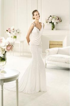 Robe de mariée Pronovias Unza 2014