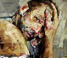 New Portrait Paintings by Andrew Salgado
