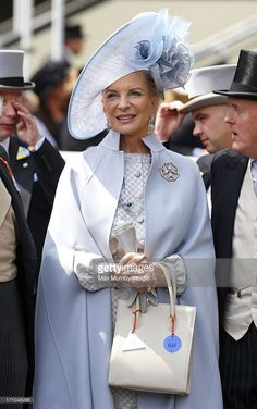 (EMBARGOED FOR PUBLICATION IN UK NEWSPAPERS UNTIL 48 HOURS AFTER CREATE DATE AND TIME) Princess Michael of Kent attends Day 4 of Royal Ascot at Ascot Racecourse on June 21, 2013 in Ascot, England. (Photo by Max Mumby/Indigo/Getty Images)