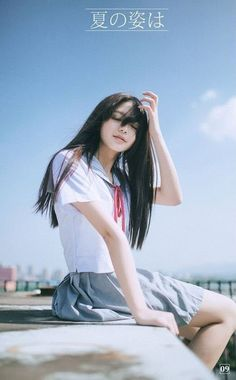 Have a Nice Day♥'s media statistics and analytics Cute Asian Girls, Beautiful Asian Girls, Cute Girls, Cool Girl, Cute School Uniforms, School Uniform Girls, School Girl Japan, Japan Girl, Girl Pictures
