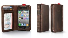 BookBook for iPhone - wallet and phone case in one. Simple, Stylish and Compact. Love mine :)