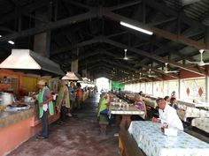 For local food , you goes to Plaza Bieuw ..Curacao.