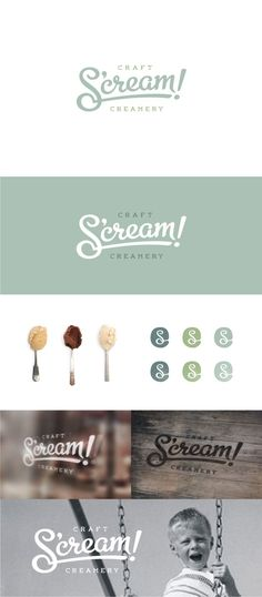 Logo design by :: scott :: #POTD99 10.12.2013 #pastels #icecream