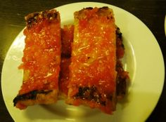 Pan con tomate bar del pla http://on.fb.me/1a3QtQZ