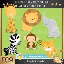 Resultado de imagen para baby shower animals
