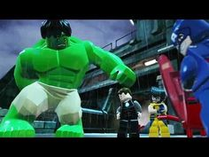 LEGO Marvel Superheroes Big Figure Trailer