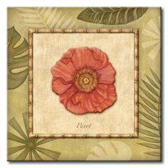 AUD_057_Paradisio IV / Cuadro Floral Vintage