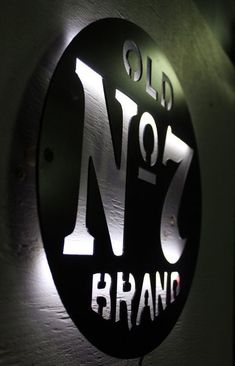 Modern Style, Steel Painted Black, Energy efficient LEDS 12 Diameter Jack Daniels fans this is your new night light. This sign is bright and like Mehr