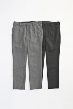WOOL TAPERED SLACKS... PRICE : 20,000-(+TAX)