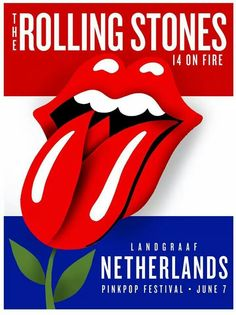 The Rolling Stones poster Netherlands 2014