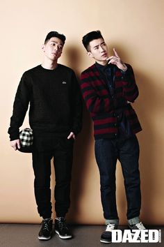 Jay Park and Gray - Dazed and Confused Magazine September Issue '14