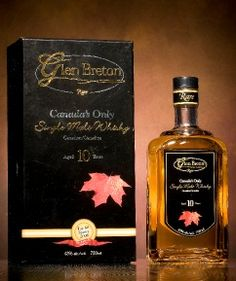 "Glen Breton Rare 10 Year - Canada's only single malt whisky, from Glenora Distillery in Cape Breton, Nova Scotia. Named as one of the Whiskies to Try Before You Die"" (authored by Ian Buxton, published by Hachette Scotland). Kid Drinks, Fancy Drinks, Alcoholic Drinks, Wine Enthusiast Magazine, Rum, Single Malt Whisky, Irish Traditions, Scotch Whiskey, Silver Bars"