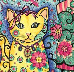 Inspirational Coloring Pages por Elke Talone #inspiração #coloringbooks…