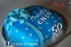 torta paco regalo, 50 anni
