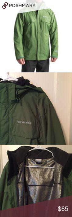8f76095031c8 Columbia Omni Heat Jacket Green Columbia Omni Heat Jacket