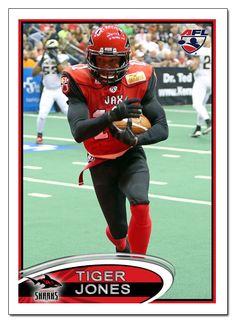 Jacksonville Sharks WR Tiger Jones