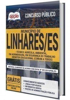 Apostila Concurso Prefeitura De Linhares Varios Cargos Tecnicos