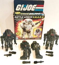 1988 GI Joe ARAH Cobra Storm Shadow V2 Red Back Pack BP