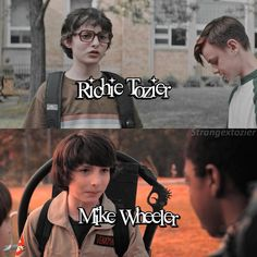 Richie or Mike? #strangerthings #it #crossovers