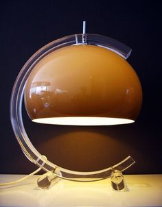 Vintage Seventies Lamp /// More inspiration every day on Interiorator.com - transmitting tomorrow's trends today