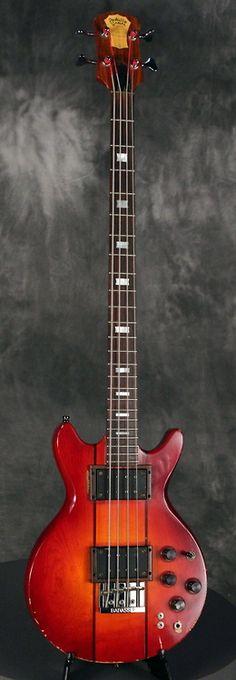 Pedulla Orsini EL-103 1970's Cherry Sunburst | Reverb