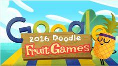 Anche #Google vuole celebrare l'inizio delle Olimpiadi di #Rio2016 e lo fa lanciando #DoodleFruitGames 2016, una serie di giochi da mobile.
