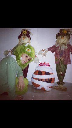 Halloween boys .