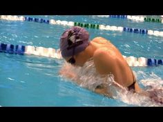 Breaststroke - Breathe Every Other Stroke - YouTube - This drill shows you that you don't have to climb out of the water to breathe. It will also teach you to stay lower on your stroke, sending more of your energy forward when you breathe. This can help you develop a smoother, lower, more direct breaststroke.