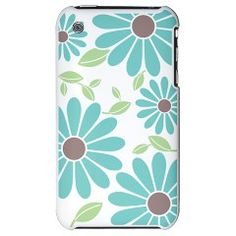 Fashion Flower Pattern - iPhone 3G Hard Case