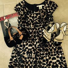 Max Studio dress  Max Studio animal print dress  size S, knee length. Light petticoat, at the hem only. Excellent condition. Worn once. Max Studio Dresses