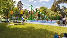 Playgrounds for New Zealand Schools, Childcare Centres & Parks - Playco Acorn, 30 Years, Childcare, Cornwall, Playground, New Zealand, Sustainability, Tower, Park