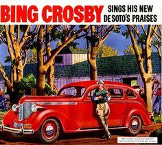 Bing Crosby & 1938 DeSoto