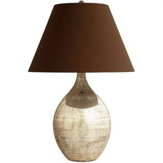Quinn Glass Teardrop Lamp - Arteriors - $453.60 | domino.com