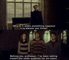 Hahaha I'm Ron right now !