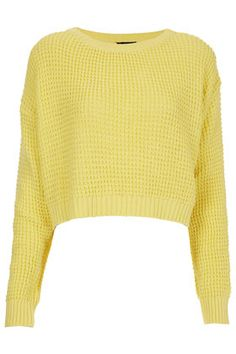 Knitted Textured Crop Jumper - Sale  - Sale & Offers  #PPshoesdaytuesday