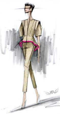 Rachel Roy Sketch  Be Inspirational❥ Mz. Manerz: Being well dressed is a beautiful form of confidence, happiness & politeness