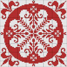Square I may be a bit obsessed. Cross Stitch Pillow, Just Cross Stitch, Cross Stitch Charts, Cross Stitch Designs, Cross Stitch Patterns, Filet Crochet, Stitch Crochet, Crochet Chart, Cross Stitching