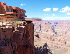 The Skywalk at the Grand Canyon - I haven't been there since they build this and I want to walk on it!