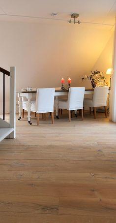 Foto: Nieuw ontwikkelde vloer: EIKEN RAFTWOOD! Gemaakt uit oude spoorbielzen voor een natuurlijke en robuuste uitstraling. Geschikt voor elk interieur! Prachtige kleuren leverbaar.. Geplaatst door EuropaParket op Welke.nl