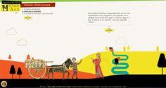 «Tranches de vie au Moyen Âge», un site ludo-éducatif pour web et tablettes